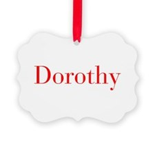 Dorothy-bod red Ornament