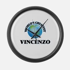 World's Greatest Vincenzo Large Wall Clock
