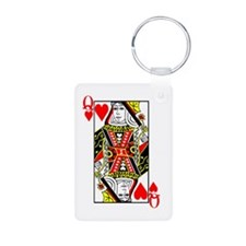 Queen of Hearts Keychains
