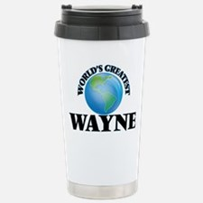 World's Greatest Wayne Travel Mug