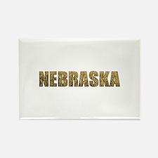 Nebraska Rectangle Magnet