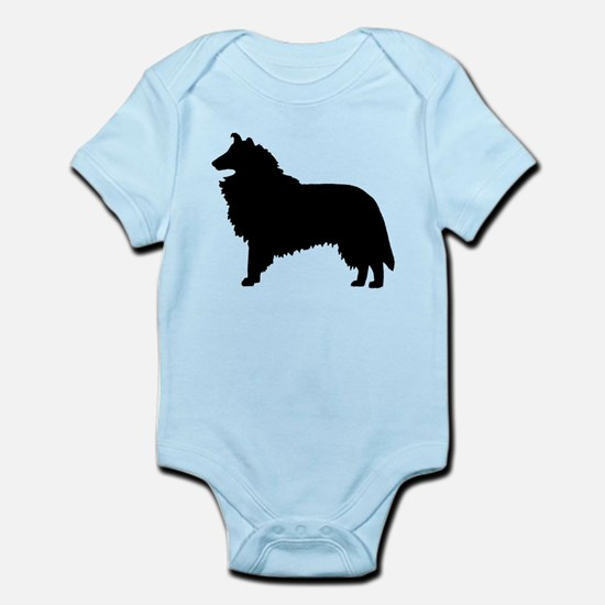 Collie Dog Breed Infant Bodysuit