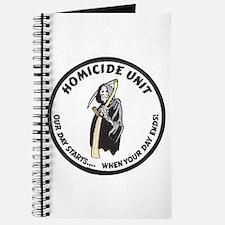 Homicide Unit Journal