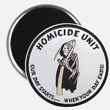 Homicide Unit Magnet