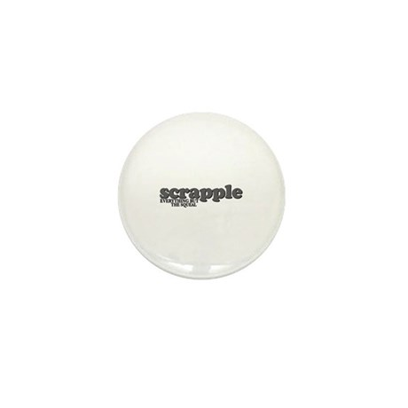 Scrapple Squeal Mini Button