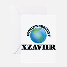 World's Greatest Xzavier Greeting Cards