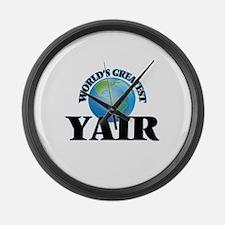 World's Greatest Yair Large Wall Clock