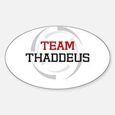 Thaddeus Oval Decal