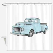 1950 Ford F1 Shower Curtain
