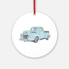 1950 Ford F1 Ornament (Round)