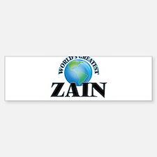 World's Greatest Zain Bumper Bumper Bumper Sticker