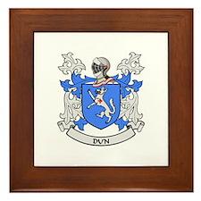 DUN Coat of Arms Framed Tile