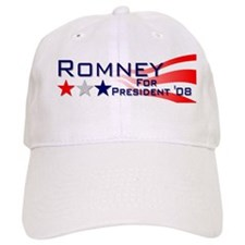 ::: Mitt Romney - Stripes ::: Baseball Cap