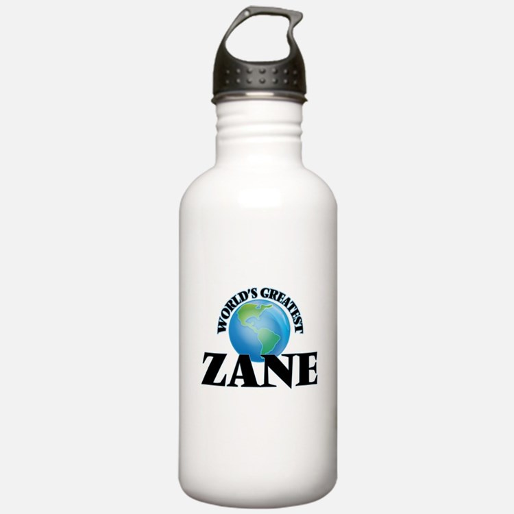 World's Greatest Zane Sports Water Bottle