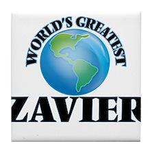 World's Greatest Zavier Tile Coaster