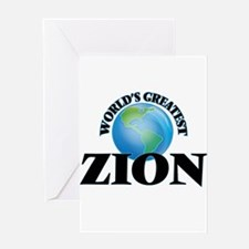 World's Greatest Zion Greeting Cards