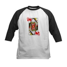 Queen of Hearts Baseball Jersey