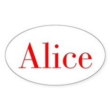 Alice-bod red Decal