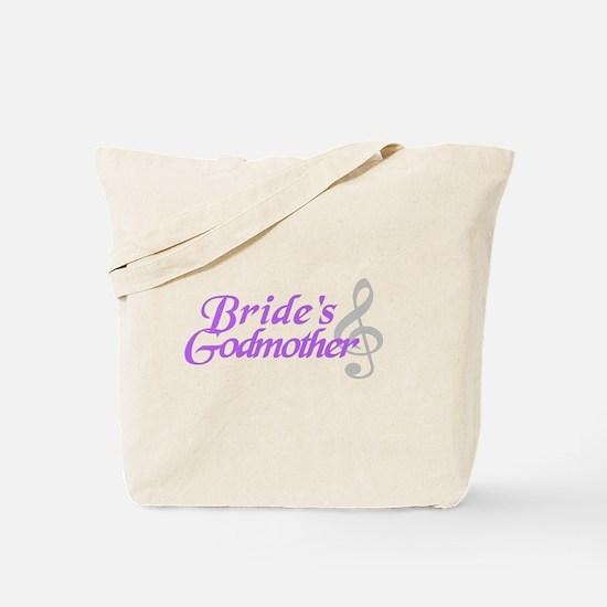 Bride's Godmother(clef) Tote Bag