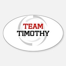 Timothy Oval Decal