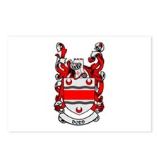 DODD Coat of Arms Postcards (Package of 8)
