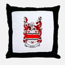 DODD Coat of Arms Throw Pillow