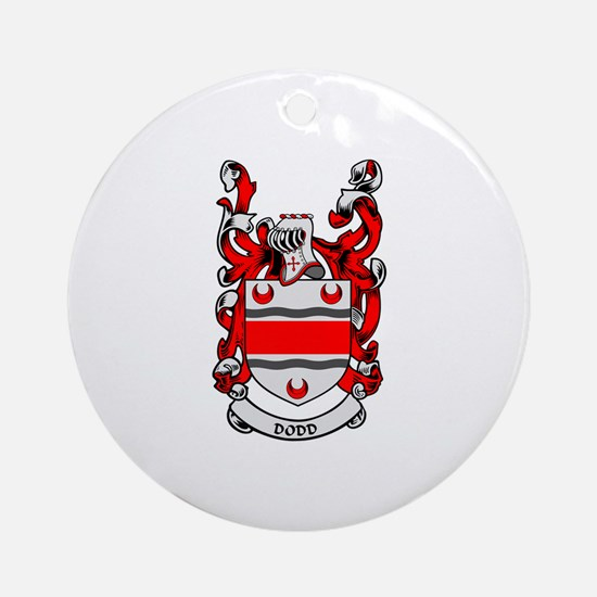 DODD Coat of Arms Ornament (Round)