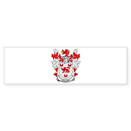 DILLON Coat of Arms Bumper Sticker