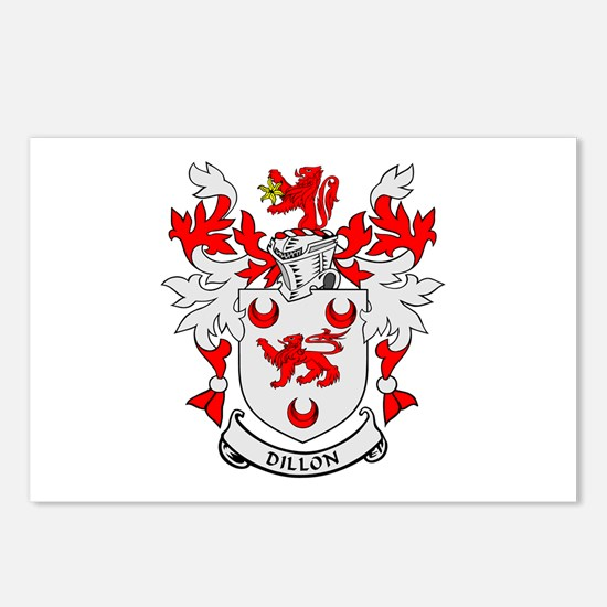 DILLON Coat of Arms Postcards (Package of 8)