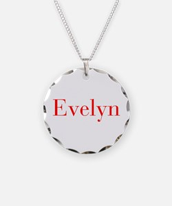 Evelyn-bod red Necklace
