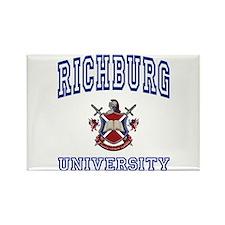 RICHBURG University Rectangle Magnet