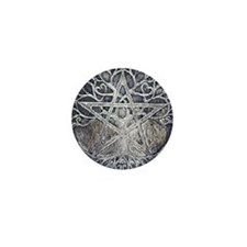 Tree Of Life Pentacle Mini-Button
