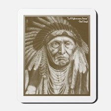 Unique Chief joseph Mousepad