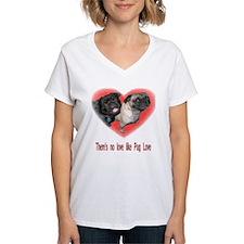 Funny Pug valentine Shirt
