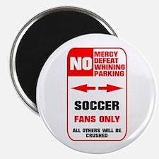 """no parking soccer 2.25"""" Magnet (10 pack)"""