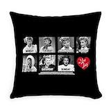 Ilovelucy Burlap Pillows