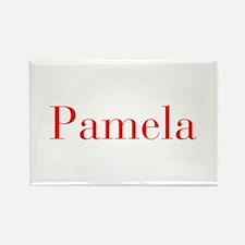 Pamela-bod red Magnets