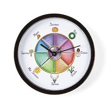 Wheel of the Year 1 - Wall Clock