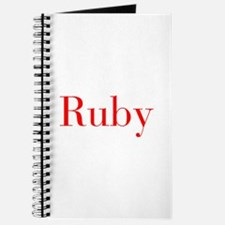 Ruby-bod red Journal
