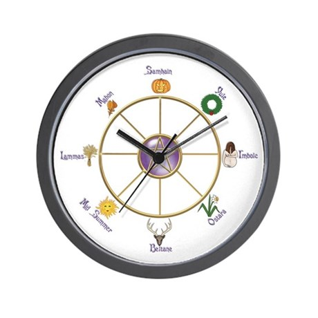 Wheel of the Year 2 - Wall Clock