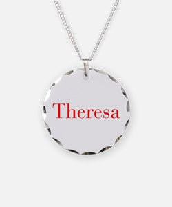 Theresa-bod red Necklace