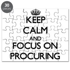 Keep Calm and focus on Procuring Puzzle