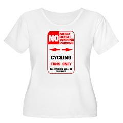 NO PARKING Cycling Sign T-Shirt