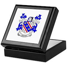 DAWES Coat of Arms Keepsake Box