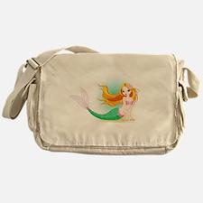 Beautiful Mermaid Messenger Bag