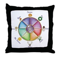 Funny Fantasy Throw Pillow