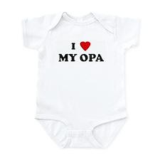 I Love MY OPA Infant Bodysuit