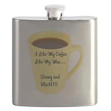I Like My Coffee Like My Men Flask