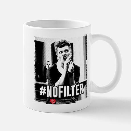 I Love Lucy #NoFilter Mug