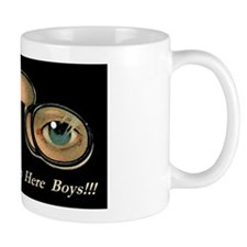 Eyes Are Up Here Boys2 Mugs